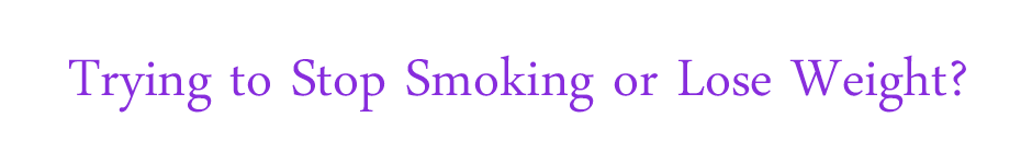 stop smoking lose weight hypnotherapy counselling swansea